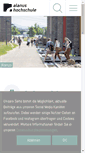 Mobile Preview of alanus-hochschule.de